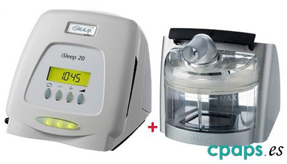Breas isleep 20, CPAP más Humidificador