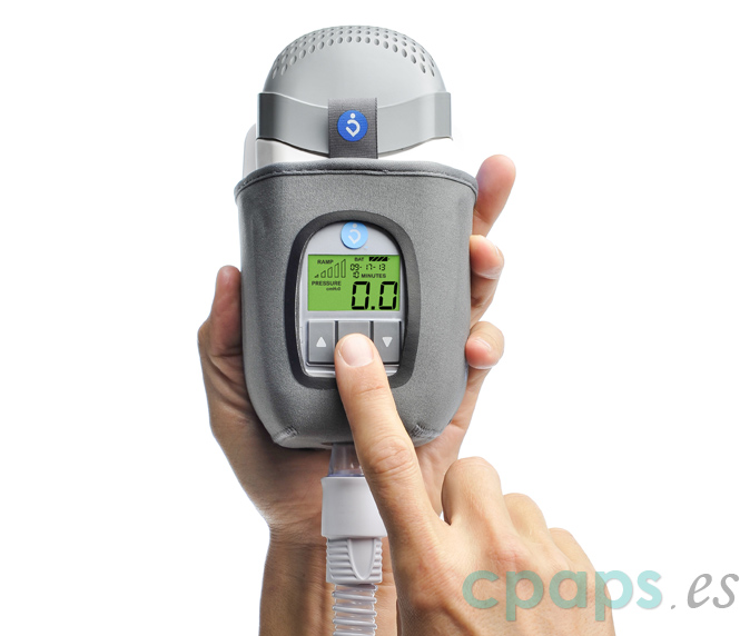 Equipo CPAP Z1 pequeño y de poco peso, perfecto para viajar