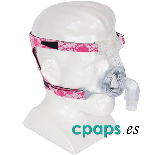 Mascarilla CPAP para mujer nasal Lady Zest Q para CPAP de Fisher and Paykel