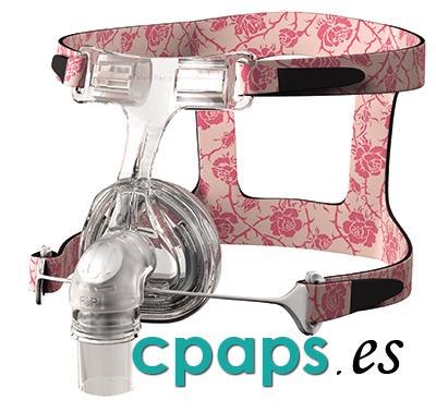Máscara para mujer nasal Lady Zest Q para CPAP de Fisher and Paykel