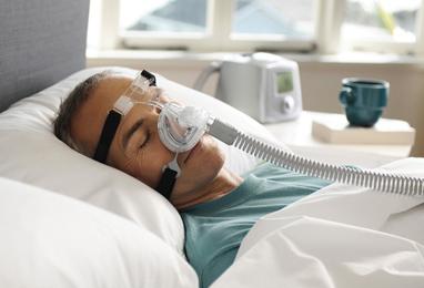 Mascarilla nasal Zest Q de Fisher and Paykel para tratamiento de la apnea del sueño
