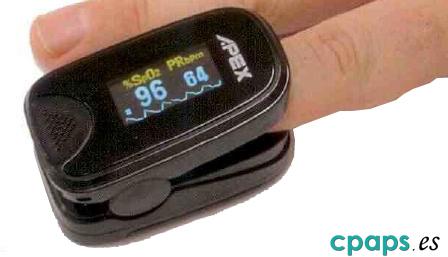 Pulsioxímetro Apex BiPPEX para medición de saturación de oxígeno en sangre y pulso