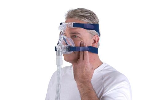 Máscara Mirage Activa LT para CPAP de Resmed en persona