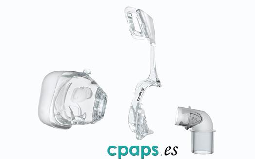 Mascarilla nasal Mirage FX de Resmed para máquinas CPAP