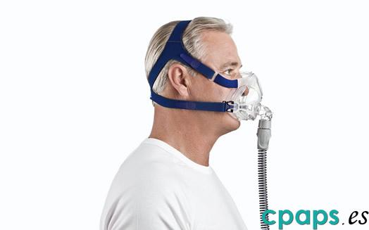 Mascarilla nasal Mirage Quattro FX de Resmed para máquinas CPAP