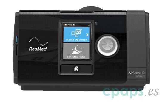 CPAP y APAP Resmed Airsense 10 Autoset
