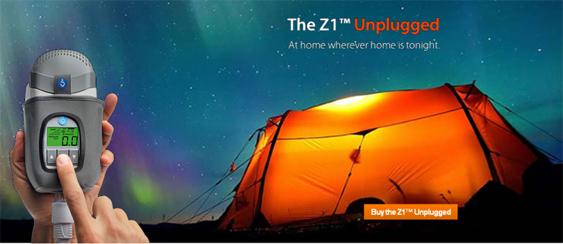 Publicidad de equipo APAP Z1 Auto, perfecto para el viaje