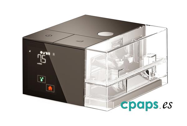 Auto-CPAP S.Box de Sefam con humidificador