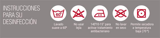 Instrucciones de desinfección de la mascarilla higiénica Apex contra coronavirus