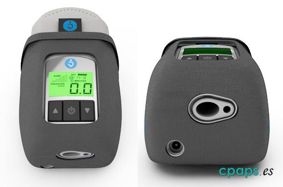 Ventana y conexión de la Breas PowerShell para CPAP Z1